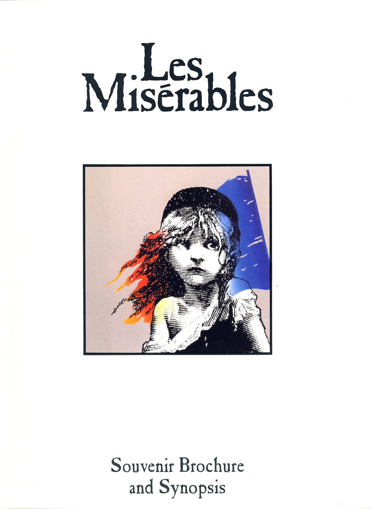 1992 Les Miserables Souvrenir Brochure and Synopsis 16 pages refb101213 Pre-owned Programme in Good Condition. Measures approx 22cm x 30cm