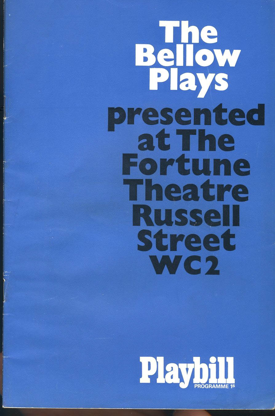 Playbill 1966 Vinage Theatre Programme The Bellow Plays refb101102 Pre-owned Programme in Good Condition. Some handling creases. Pauline Collins bio glued in cast list and over previous actress. Measures approx 15cm x 22.5cm