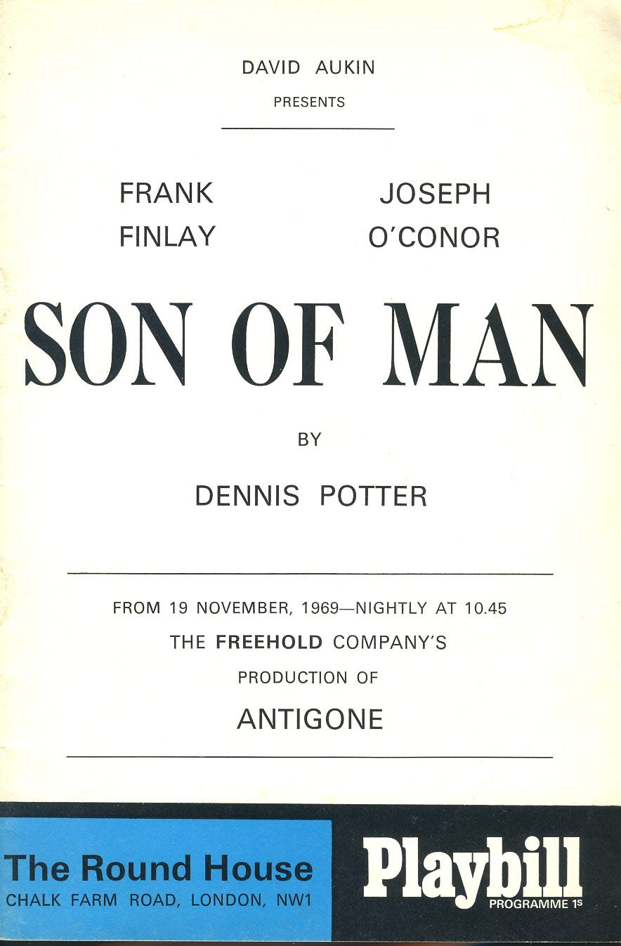 Playbill 1969 Vintage Theatre Programme SON OF MAN Round House London refb101103 Pre-owned Programme in Good Condition. Some marks on cover. Measures approx 15cm x 22.5cm