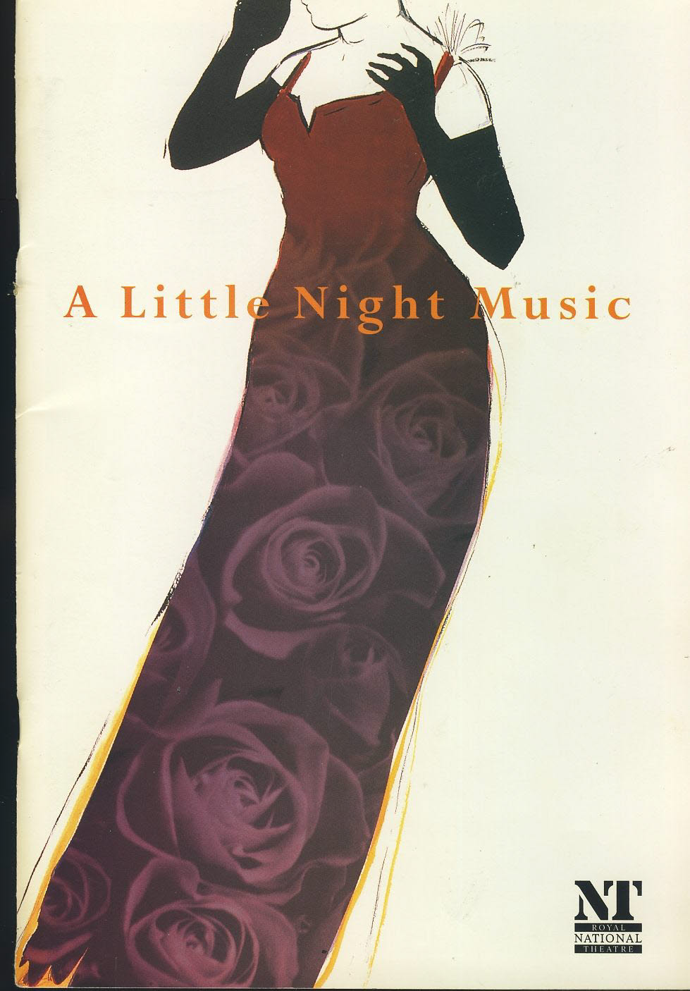 A Little Night Music JUDI DENCH NT National Theatre Programme refb1593 Used Programme in Very Good Condition.