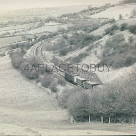 UK GB Black & White Train Photo as shown - W.A.Sharman - see reverse side picture for full details - approx measurements 25cm x 20cm (10 x 8 inches) in Very Good Condition. Photos are watermarked with a dotted line and our name (front and reverse views). These are not on the actual photographs of the train / railway / locomotive / Railway Station etc