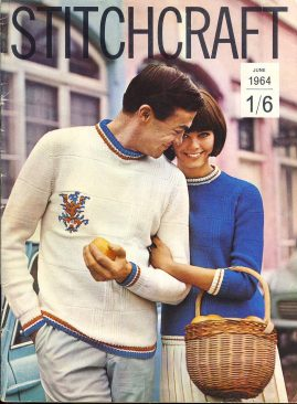 Vintage Stitch Craft pattern magazine as shown in photograph. Knitting