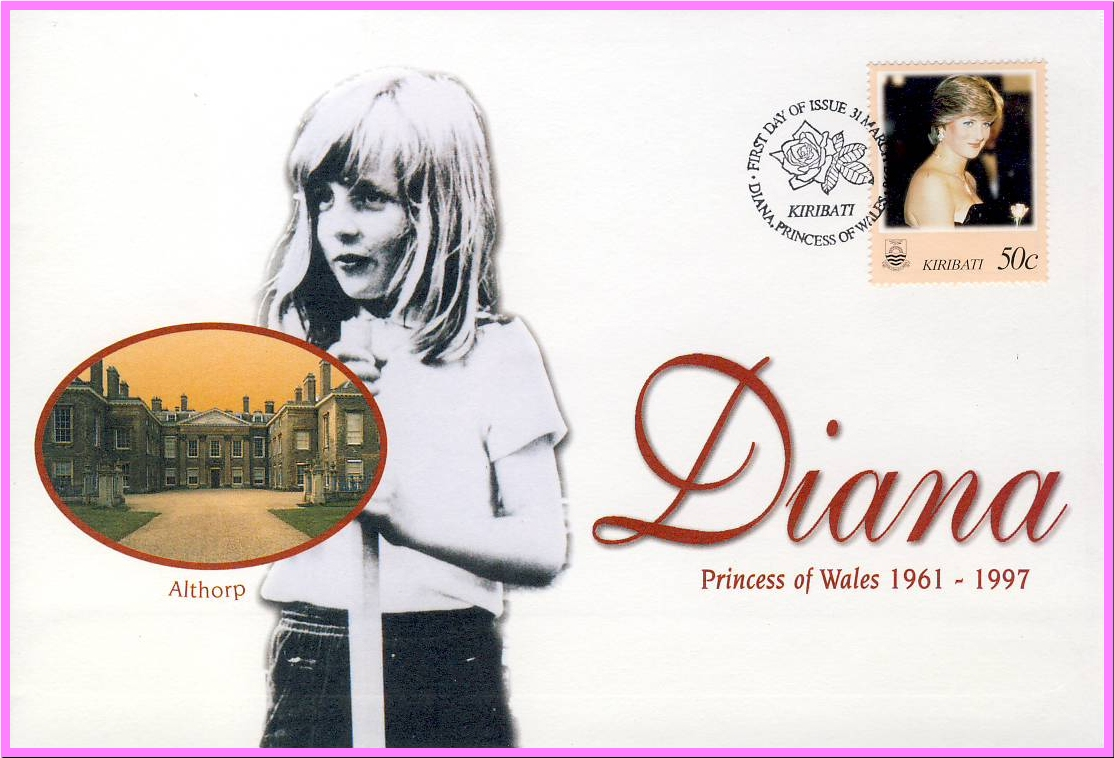 Ideal Gift. Diana Princess of Wales 1961 - 1997 collectors cover. Very good condition.