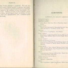 1931 Children's Maternity Garments Woman's Institute Domestic Arts & Sciences RARE sewing dressmakers tailors collectors book. Scranton PA Textbook Press.