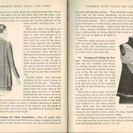 1931  Tailored Garments Woman's Institute Domestic Arts & Sciences RARE sewing dressmakers tailors collectors book. Scranton PA Textbook Press.
