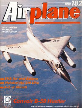 Airplane Magazine part182 Convair B-58 Hustler EVA Air Asiana