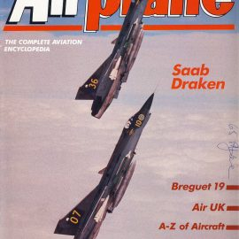 Airplane Magazine part 177 ORBIS Saab Draken