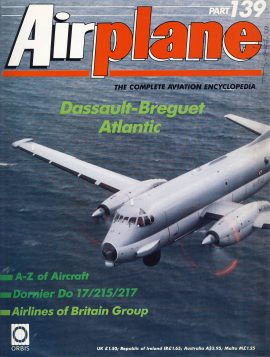 Airplane Magazine part 139 Dassault-Breguet Atalantic