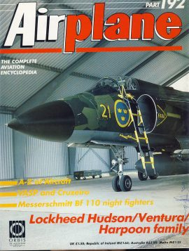 Airplane Magazine part 192 Lockheed Hudson Ventura Harpoon family ORBIS Very good. Writing on cover. Please see large photo for more information and view condition.