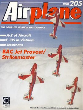 Airplane Magazine part 205 BAC Jet Provost Strikemaster