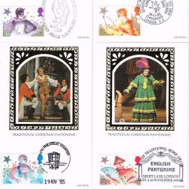Set of 5 postcards. Ideal Gift. Very good condition