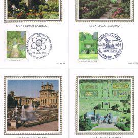 4 postcards - ltd edition of 4