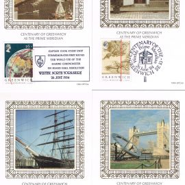 Set of 4 postcards various postmarks. Whitby