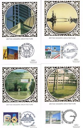 Limited Edition 2500. Various postmarks and silk pictures. See photo. Ideal Gift. Good condition