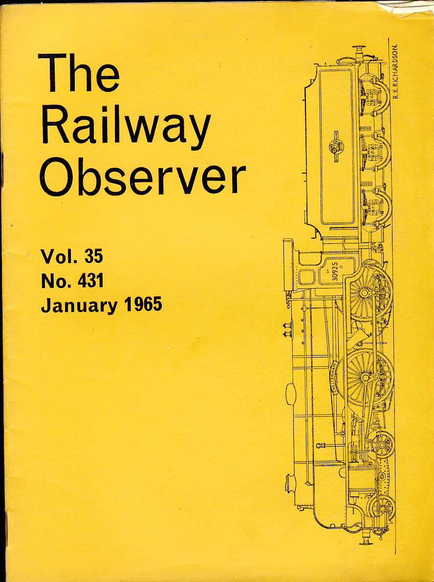 1965 Railway Observer magazine for sale
