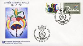 This item is one from a large United Nations stamps and first day cover collection. See photo for product details.