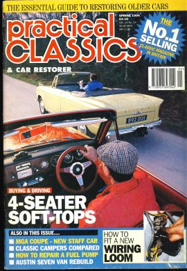 Also in this issue MGA COUPE
