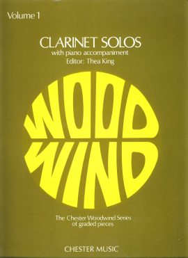Volume 1 (2 parts - 7 pages and 21 pages) CHESTER MUSIC Wood Wind Series editor Thea King. Pre-owned vintage item in good used condition. No writing. Please see large photo for more details.