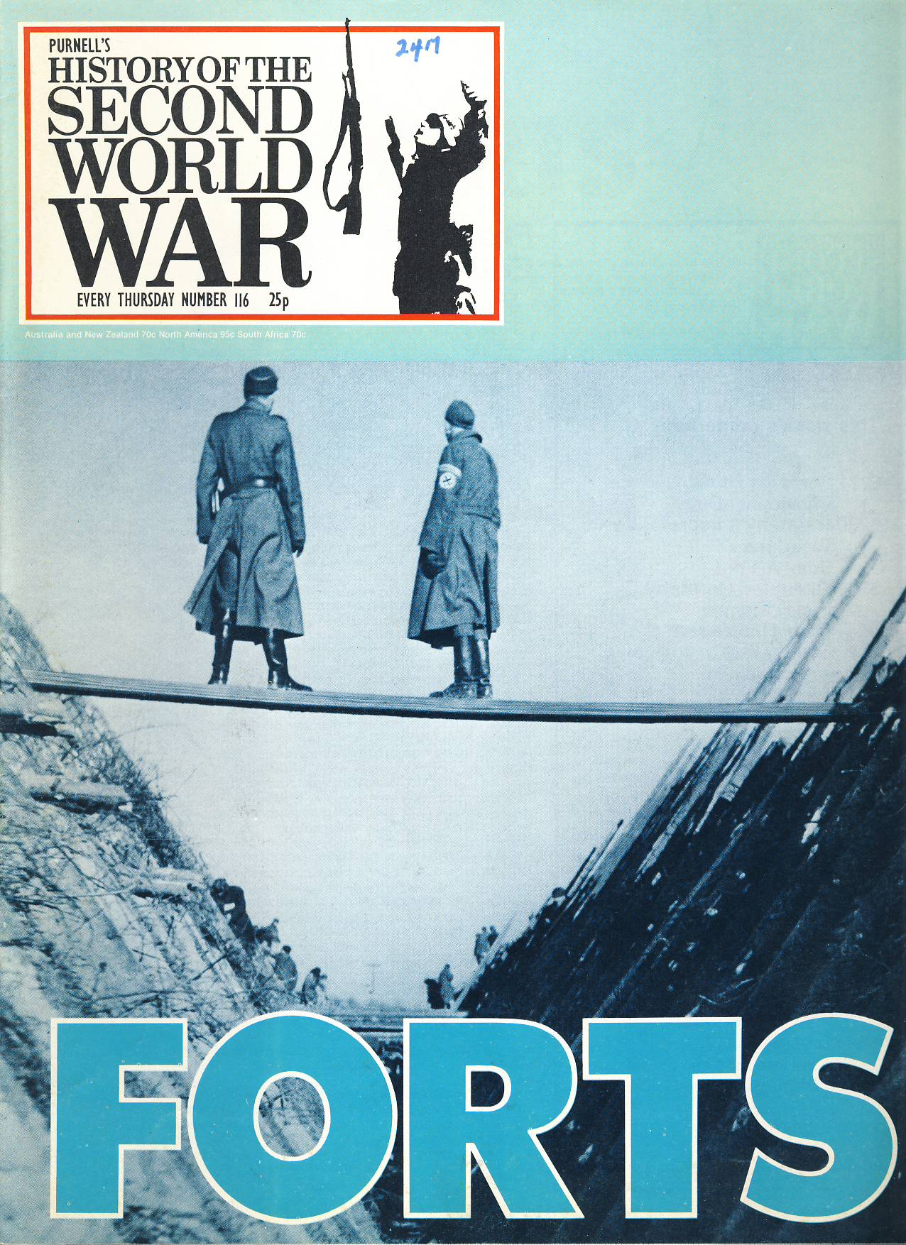 History of the Second World War Magazine #116 FORTS German & Japan Occuption A vintage Purnell's weekly magazine in good read condition. Please see larger photo and full description for details.