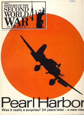 History of the Second World War Magazine #25 PEARL HARBOR A vintage Purnell's weekly magazine in good read condition. Please see larger photo and full description for details.
