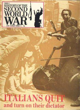 History of the Second World War Magazine #51 ITALIANS QUIT Sicily