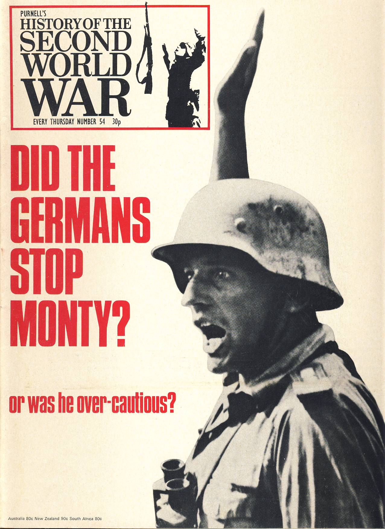 History of the Second World War Magazine #54 DID THE GERMANS STOP MONTY? Cassino
