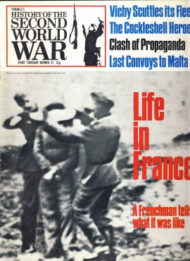 History of the Second World War Magazine #42 Life in France