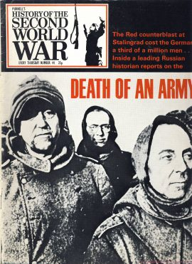 History of the Second World War Magazine #44 DEALTH OF AN ARMY Stalingrad A vintage Purnell's weekly magazine in well read condition. Please see larger photo and full description for details.