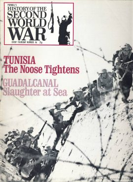History of the Second World War Magazine #46 The Noose Tightens TUNISIA Guadalcanal A vintage Purnell's weekly magazine in good read condition. Please see larger photo and full description for details.