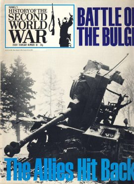 History of the Second World War Magazine #81 Battle of the Bulge THE RHINE A vintage Purnell's weekly magazine in good read condition. Please see larger photo and full description for details.