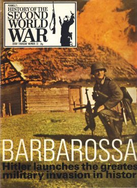 History of the Second World War Magazine #22 BARBAROSSA Smolensk KIEV A vintage Purnell's weekly magazine in good read condition. Please see larger photo and full description for details.