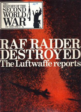 History of the Second World War Magazine #60 The Luftwaffe Reports RAF RAIDER A vintage Purnell's weekly magazine in good read condition. Please see larger photo and full description for details.