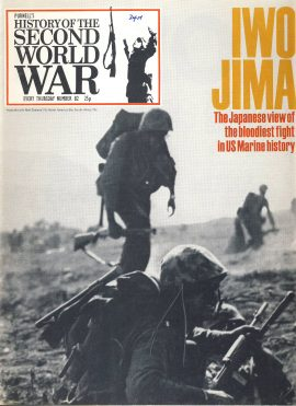 History of the Second World War Magazine #82 Japanese view US Marine History IWO JIMA A vintage Purnell's weekly magazine in good read condition. Please see larger photo and full description for details.