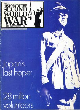 History of the Second World War Magazine #91 Japan's last hope 28 million voluteers A vintage Purnell's weekly magazine in good read condition. Please see larger photo and full description for details.