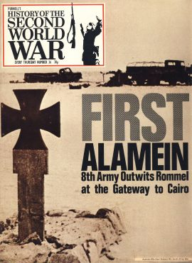 History of the Second World War Magazine #36 First Alamein 8th Army outwits Rommel CAIRO A vintage Purnell's weekly magazine in good read condition. Please see larger photo and full description for details.