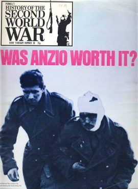 History of the Second World War Magazine #58 ANZIO A vintage Purnell's weekly magazine in well read condition. Please see larger photo and full description for details.