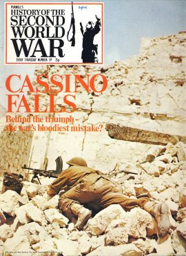 History of the Second World War Magazine #59 Behind the triumph CASSINO FALLS A vintage Purnell's weekly magazine in good read condition. Please see larger photo and full description for details.