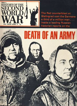History of the Second World War Magazine #44 Stalingrad DEATH OF AN ARMY A vintage Purnell's weekly magazine in good read condition. Please see larger photo and full description for details.