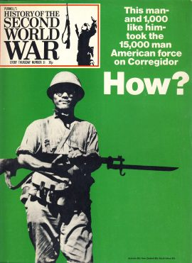 History of the Second World War Magazine #31 HOW? American force on Corregidor A vintage Purnell's weekly magazine in good read condition. Please see larger photo and full description for details.