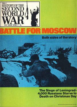 History of the Second World War Magazine #27 Battle for Moscow Siege of Leningrad A vintage Purnell's weekly magazine in good read condition. Please see larger photo and full description for details.