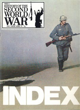History of the Second World War Magazine #96 THE INDEX A vintage Purnell's weekly magazine in good read condition. Please see larger photo and full description for details.
