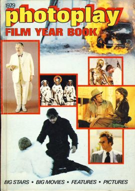 1979 photoplay FILM YEAR BOOK  hardback ref367 72 pages - price unclipped - Pre-owned book in good condition for age. Clean and intact. Please see large photo for more details.