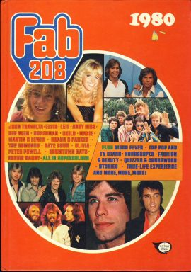 1980 Fab 208 fleetway annual hardback book ref372 Pre-owned book in good condition for age. Please see large photo for more details.