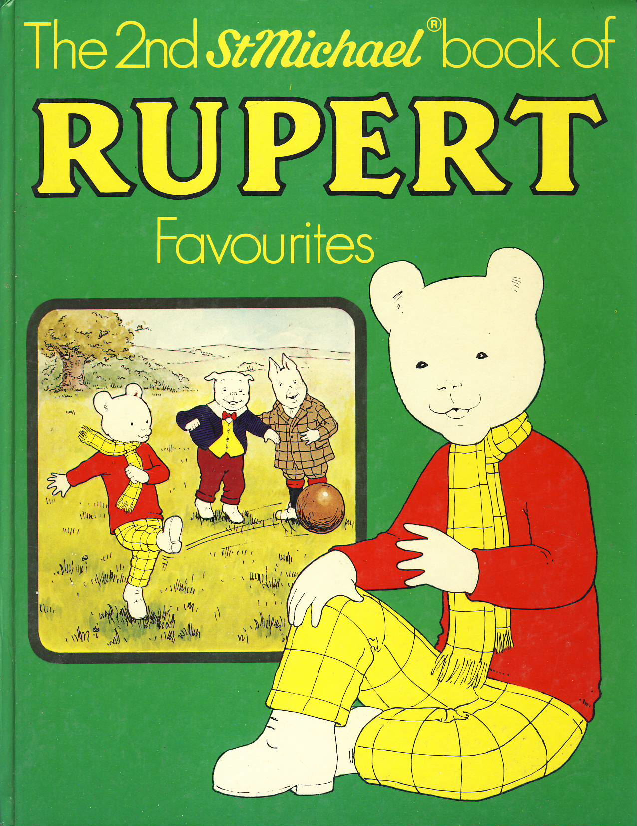 1978 The 2nd St Michael book of RUPERT Favourites MARY TOURTEL hardback book ref373 Pre-owned book in good clean condition for age. Please see large photo for more details.