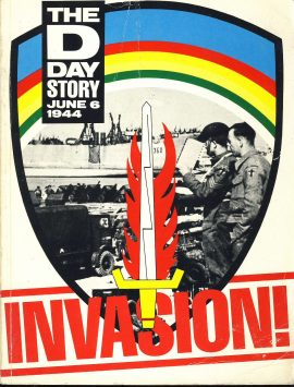 INVASION The D Day Story June 6th 1944 1984 large paperback book ref376 Express newspapers publication Pre-owned book in good condition for age. Please see large photo for more details.