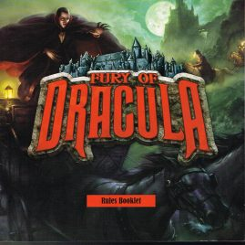 Fury of Dracula Rules Booklet 2005 Board Game Rules ref101524 S4 Fantasy Flight Games publication Measures approx 28cm x 28cm 32 pages.  Please read the full description and see photo.