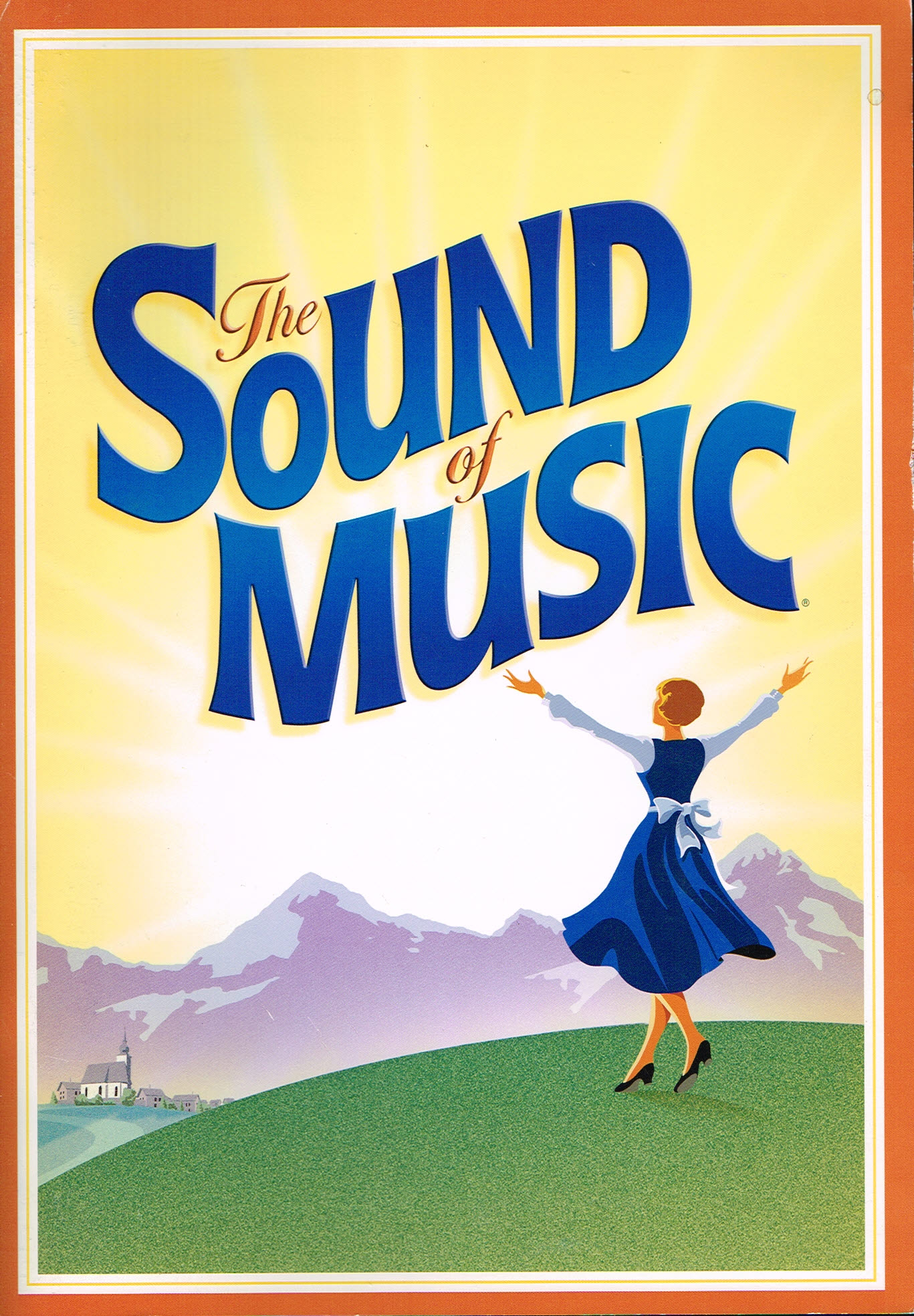 Sound of Music souvenir brochure CONNIE FISHER MICHAEL PRAED 2009-2010 plus family album ref101532 S4 Photographs in this theatre brochure are of the July 2009 and Februaary 2010 UK Tour cast