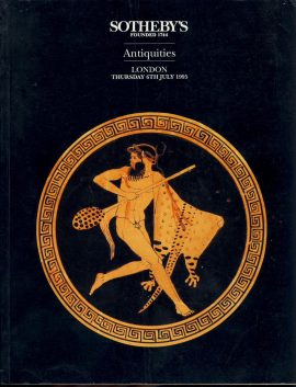 SOTHEBYS Antiquities London 1995 catalogue 156 pages ref0075 A1 Glossy paper with a mix of colour and black and white photos. Pre-owned item.
