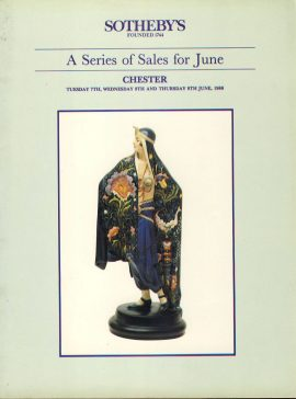 Pre-owned item.CHESTER 1988 SOTHEBYS auction sales catalogue 46 pages ref0083 A1 Pre-owned item.