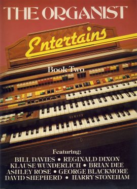 Pre-owned item. Book Two 1982 - 127 pages of arrangements in various styles. The Organist Entertains 127 pages EMI sheet music book ref0087 A1 Pre-owned item. Book Two 1982 - 127 pages of arrangements in various styles.